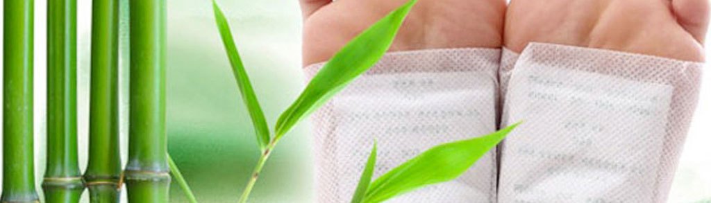 Japanske Detox-plastre med bambus eddike