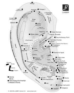 øreakupunktur, Auriculoterapi