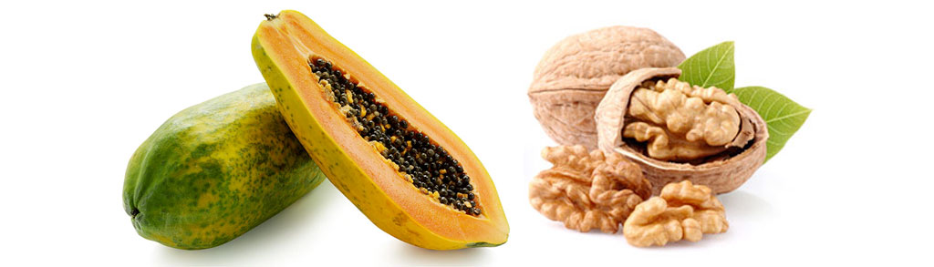 papaya black walnut